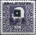 [Bosnia & Herzegovina Postage Stamps Overprinted - Latin Letters, type J23]