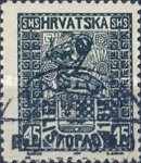 [Independence of Croatia, Slavonia and Dalmatia, Typ K3]