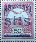 [Hungary Postage Stamps Overprinted, type L1]