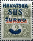 [Hungary Express Stamp Overprinted, type N]