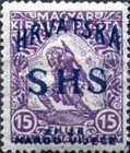 [Hungary Stamps Overprinted, type O1]