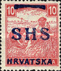 [Hungary Postage Stamps Overprinted, type P]