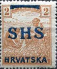 [Hungary Postage Stamps Overprinted - Colored Numerals, type R]