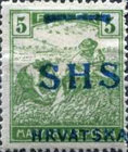 [Hungary Postage Stamps Overprinted - Colored Numerals, type R2]