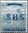 [Hungary Postage Stamps Overprinted - Colored Numerals, type R3]