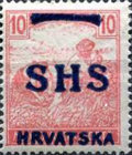 [Hungary Postage Stamps Overprinted - Colored Numerals, type R4]