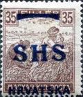 [Hungary Postage Stamps Overprinted - Colored Numerals, type R8]