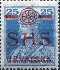 [Hungary Postage Stamps Overprinted, type S10]