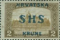 [Hungary Postage Stamps Overprinted, type S4]
