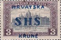 [Hungary Postage Stamps Overprinted, type S5]