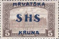 [Hungary Postage Stamps Overprinted, type S6]