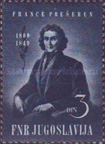 [The 100th Anniversary of the Death of Franc Presheren, 1800-1849, Typ YA]
