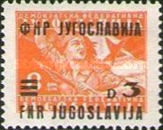 [Definitive Issue Overprinted and Surcharged, Typ YV]