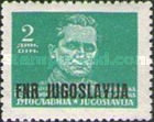[Definitive Issues of 1945-1947 in New Colors and Overprinted, type ZJ]