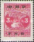 [Definitive Issues of 1945-1947 in New Colors and Overprinted, type ZK]