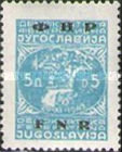 [Definitive Issues of 1945-1947 in New Colors and Overprinted, type ZL]
