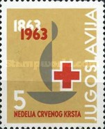 [The 100th Anniversary of International Red Cross, type AB]