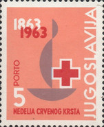 [The 100th Anniversary of International Red Cross, type AB1]