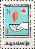 [Red Cross - Tuberculosis Week, type CQ1]