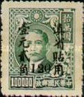[China Empire Postage Stamps Surcharged, type H8]