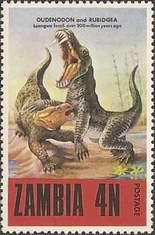 [Prehistoric Animals - Fossils from the Luangwa Area, Typ CM]