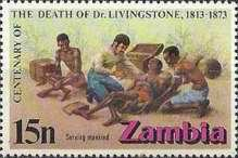 [The 100th Anniversary of the Death of David Livingstone, 1813-1873, Typ CV]