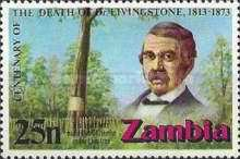 [The 100th Anniversary of the Death of David Livingstone, 1813-1873, Typ CW]