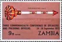 [The 3rd Commenwealth Conference of Speakers and Presiding Officers - Lusaka, Typ CX]