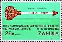 [The 3rd Commenwealth Conference of Speakers and Presiding Officers - Lusaka, Typ CX2]