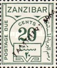 [Numeral Stamps of 1936 Overprinted