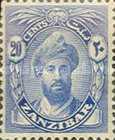 "[Sultan Chalifa bin Harub - Value in ""CENTS"", Typ AL7]"