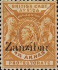 [British East Africa Postage Stamps Overprinted