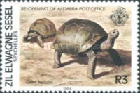 [Re-Opening of Aldabra Post Office, type AL]
