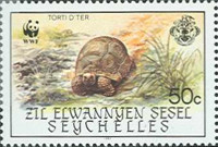 [World Wildlife Fund - Giant Tortoise of Aldabra, type AT]