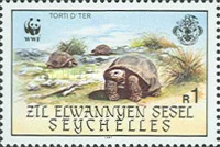 [World Wildlife Fund - Giant Tortoise of Aldabra, type AV]