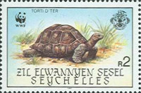 [World Wildlife Fund - Giant Tortoise of Aldabra, type AW]