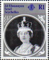 [The 85th Anniversary of the Birth of H.R.M. Queen Elizabeth The Queen Mother, type H]