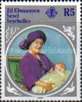 [The 85th Anniversary of the Birth of H.R.M. Queen Elizabeth The Queen Mother, type K]
