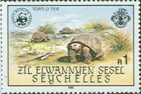 [World Wildlife Fund - Giant Tortoise of Aldabra, type O]