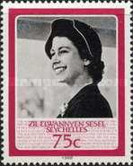 [The 60th Anniversary of the Birth of H.R.M. The Queen Elizabeth II, type U]