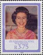 [The 60th Anniversary of the Birth of H.R.M. The Queen Elizabeth II, type X]