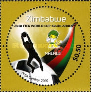 [The 3rd SAPOA Joint Issue - Football World Cup - South Africa, type AAG]