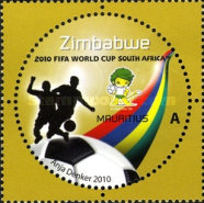 [The 3rd SAPOA Joint Issue - Football World Cup - South Africa, type AAJ]