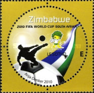 [The 3rd SAPOA Joint Issue - Football World Cup - South Africa, type AAK]