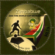 [The 3rd SAPOA Joint Issue - Football World Cup - South Africa, type AAN]