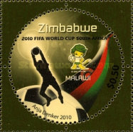 [The 3rd SAPOA Joint Issue - Football World Cup - South Africa, type AAP]