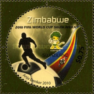 [The 3rd SAPOA Joint Issue - Football World Cup - South Africa, type AAQ]