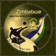 [The 3rd SAPOA Joint Issue - Football World Cup - South Africa, type AAT]