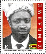 [The 1st Anniversary of the Death of Joseph Wilfred Msika, 1923-2009, type AAW]