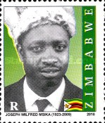 [The 1st Anniversary of the Death of Joseph Wilfred Msika, 1923-2009, type AAW1]